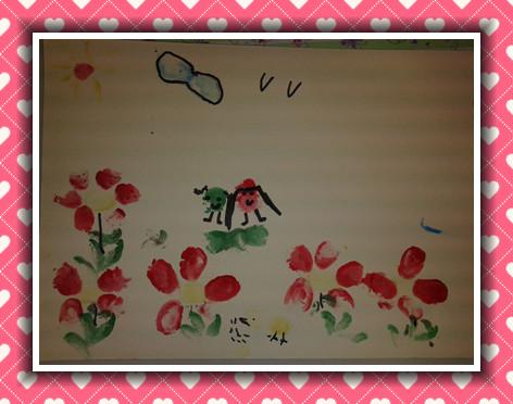 班级主页 12毕业班大1 幼儿作品   主题:本次活动是美术活动图片
