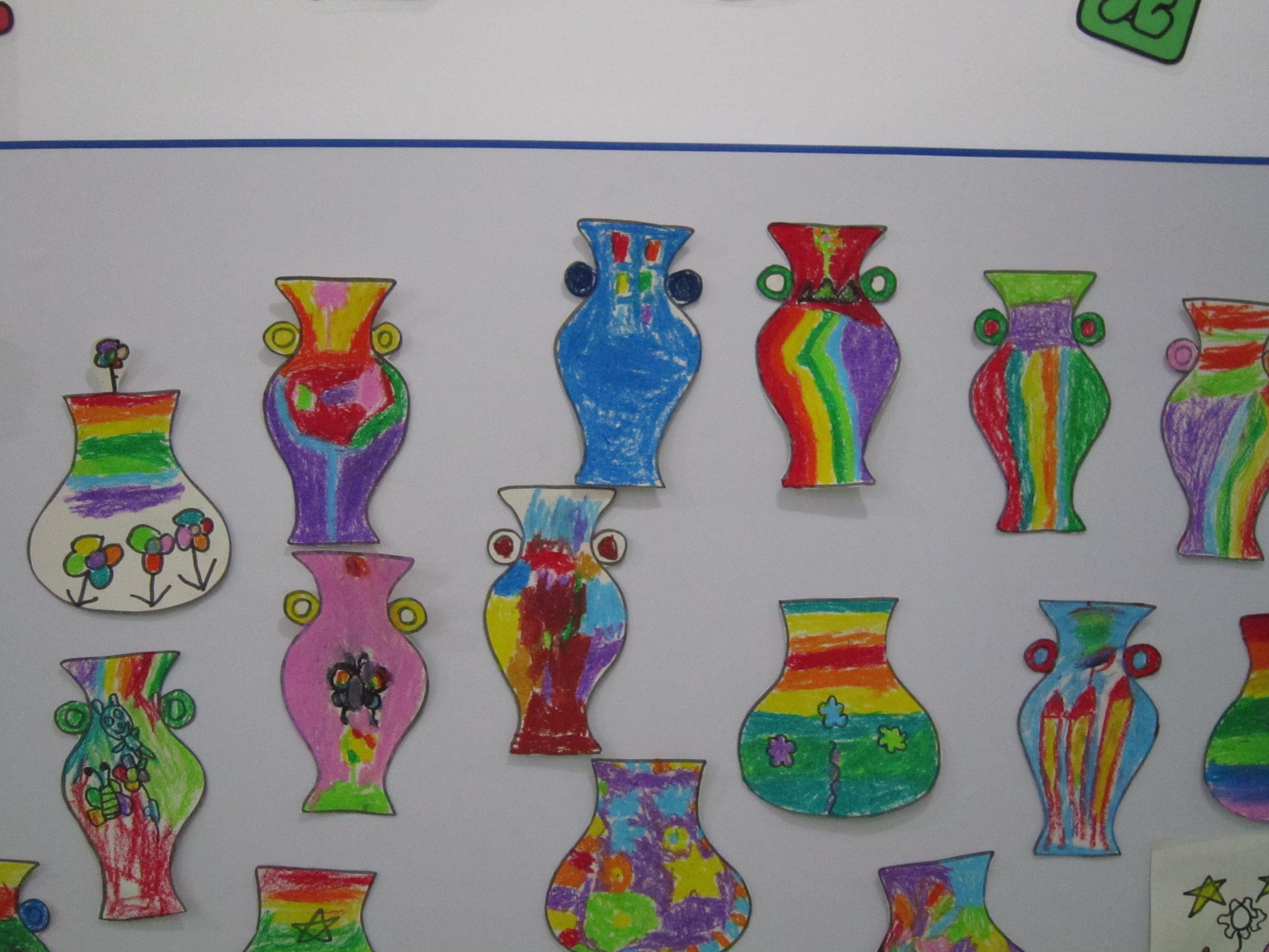 花瓶画点线面装饰画分享_花瓶画点线面装饰画图片