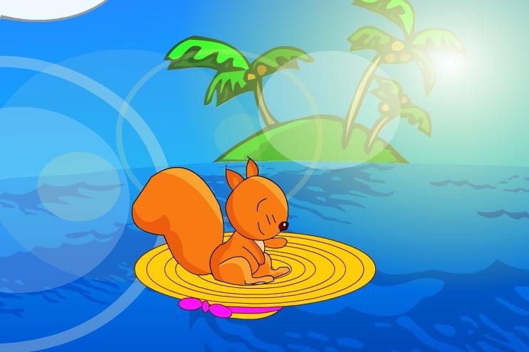 2,故事中的小船极具有个性化,也反映了小动物们
