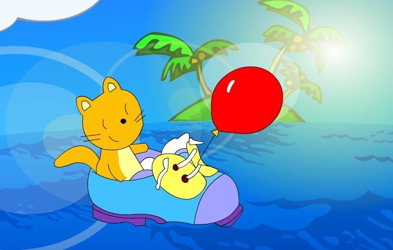 幼儿园气球装饰小动物图片大全