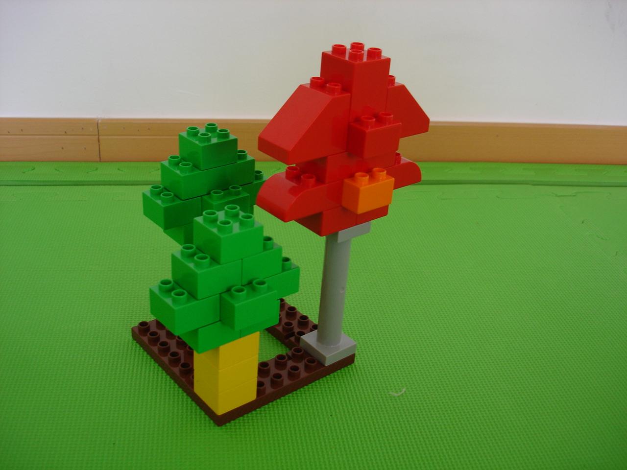 乐高建构——树