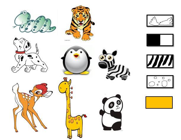 关于森林动物的画图片下载分享; 动物简笔图图片下载; 小动物花边大全