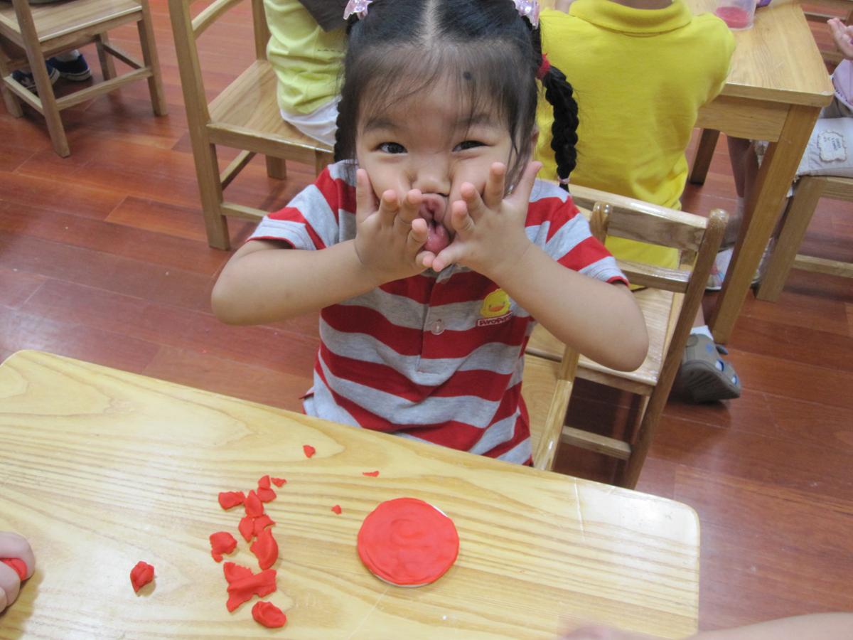 ... 彩泥制作教程海绵宝宝,用橡皮泥捏小动物_快步图片