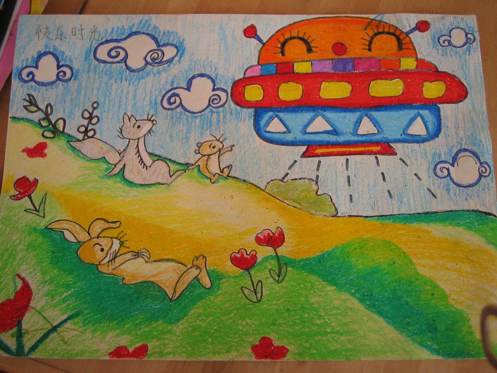 儿童绘画作品图片