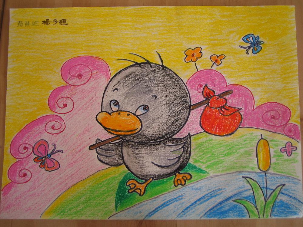 幼儿绘画作品