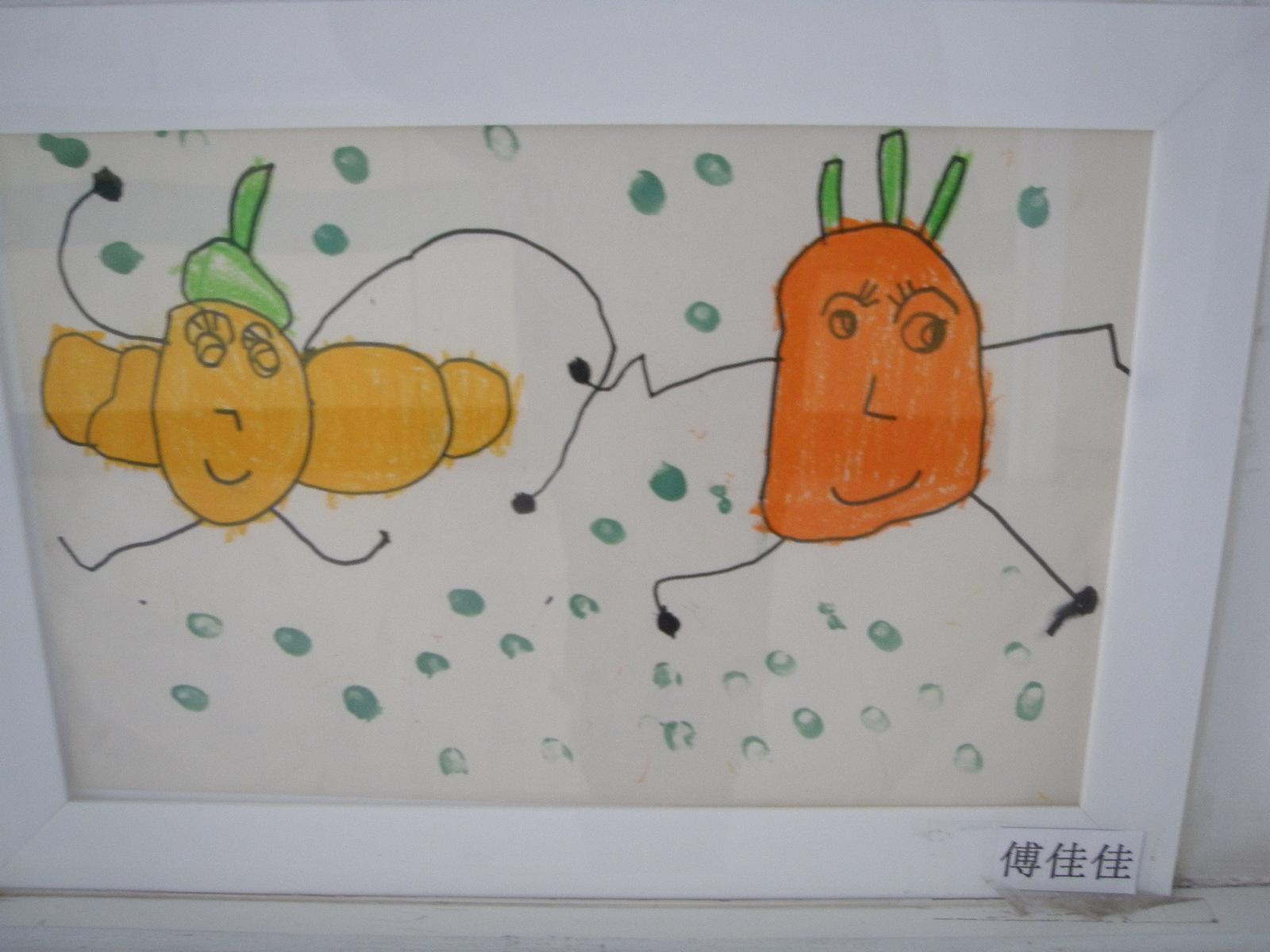 幼儿园基本线条画法分享展示