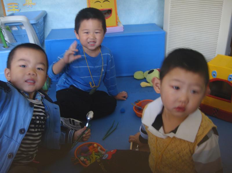幼儿园里真开心