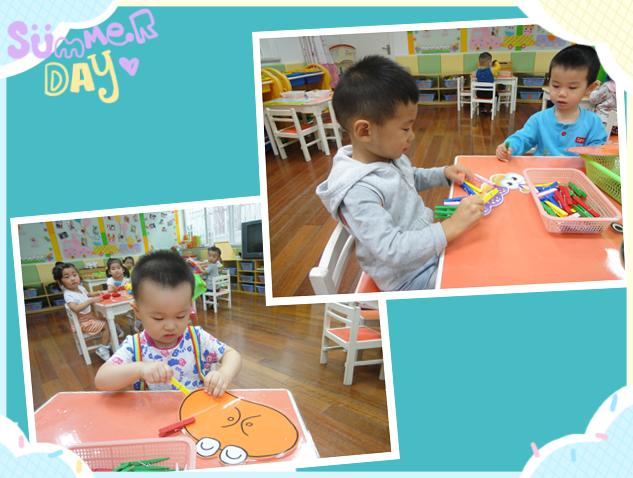 幼儿园里不仅有好玩的区角游戏