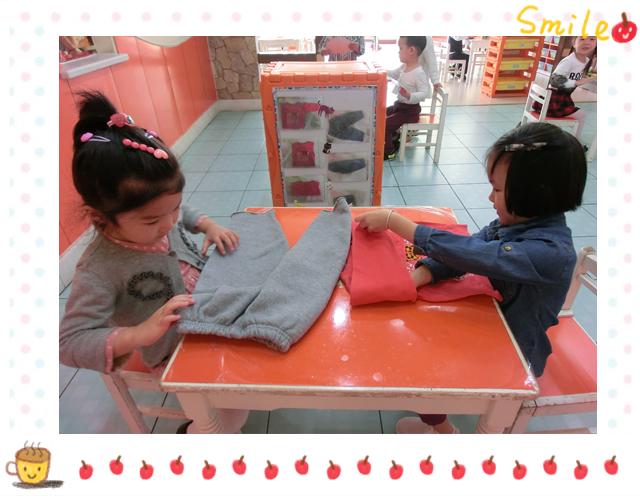 幼儿园叠衣服裤子步骤图片
