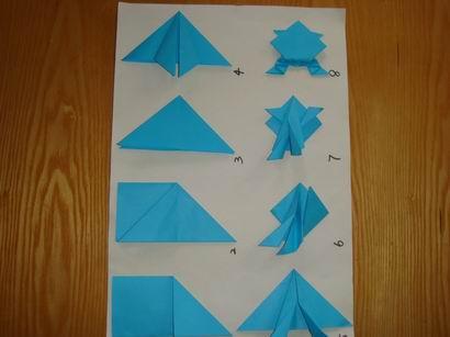 纸折青蛙图解分享_第2页