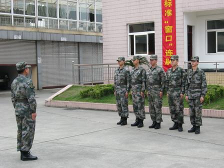 军营生活初体验