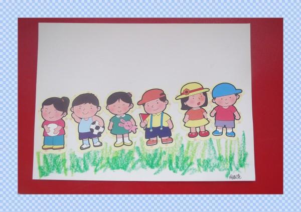 男孩女孩排排队 -小班一班