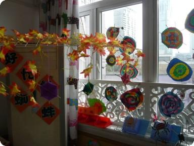 布置教室幼儿手工制作大全图片