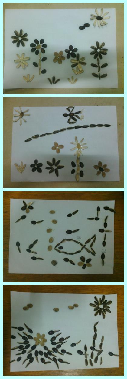 幼儿园坚果手工制作图片