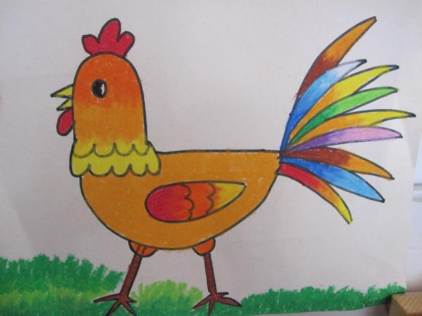 儿童画 600_450图片