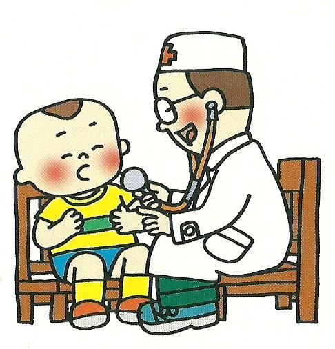 幼儿吃药简笔画