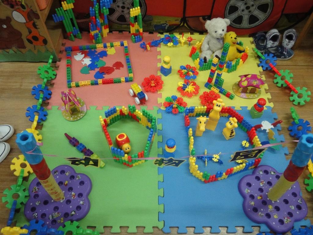 幼儿园建构动物园