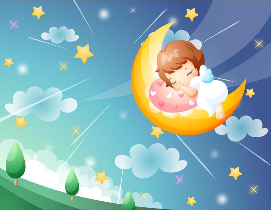 快要睡了, 我的小宝宝,快要睡了, 摇啊摇,摇啊摇, 快快睡觉,快睡觉.