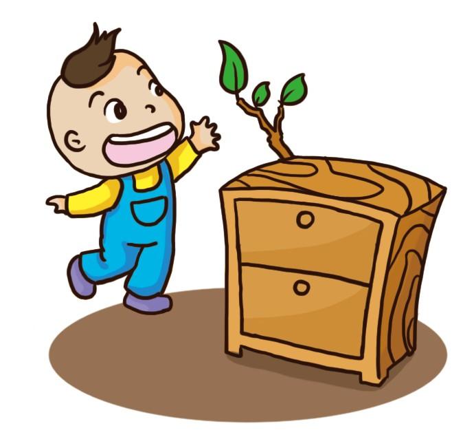 园所主页 我的本领  我们学做小木工, 学做小木工, 小朋友个个干劲大图片