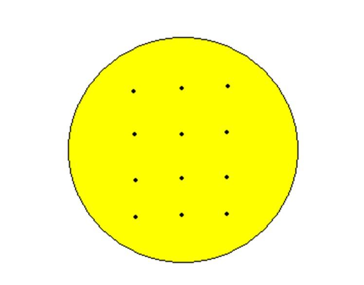 圆饼干当月亮图片