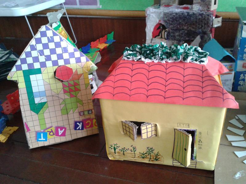 手工制作的房子