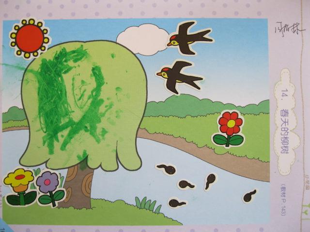 柳树简笔画图片大全