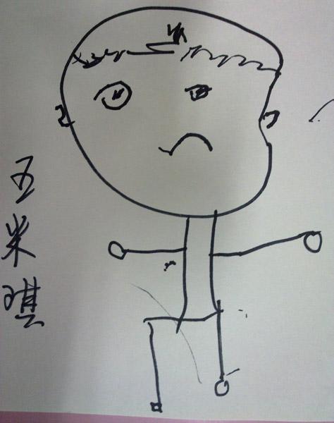 可爱班级简笔画