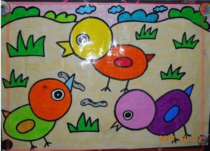 儿童画 703_505