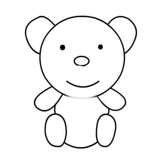 美术:可爱的小熊