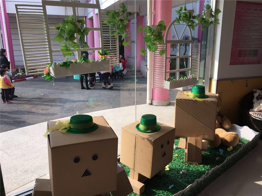 一署听潮艺术幼儿园大厅公共环境创设