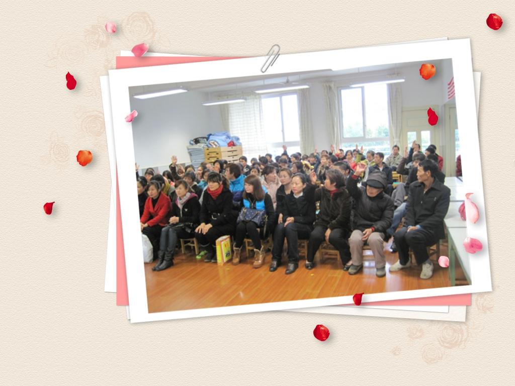 天马山幼儿园举行中班家长学校讲课活动