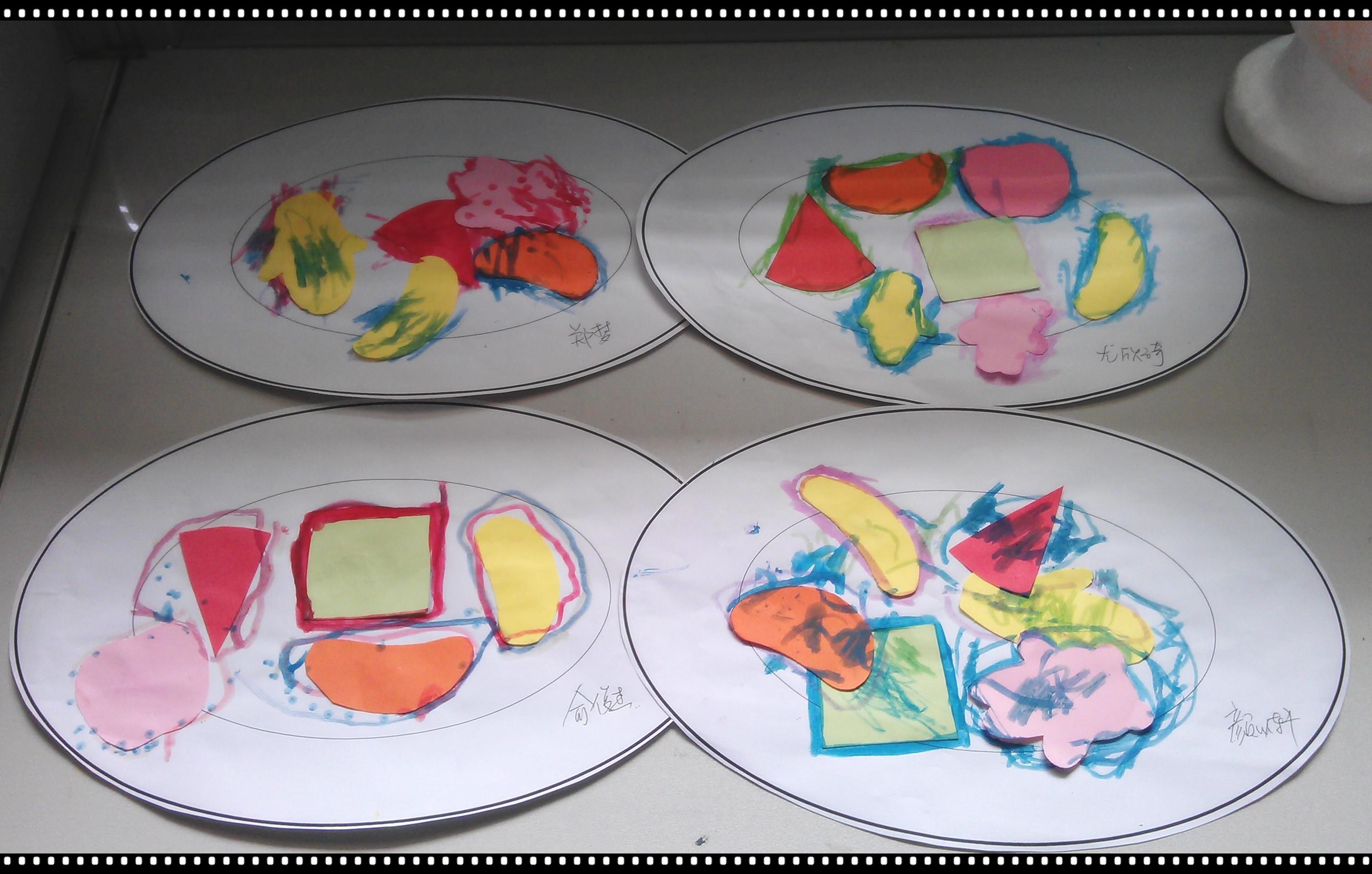 纸盘手工制作大全图片 西瓜