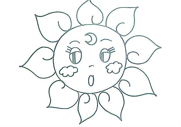美术——大家一起画太阳