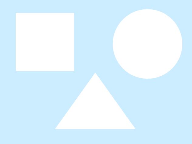 这个对孩子不难,大家都猜得出,原来是正方形,圆形和三角形.