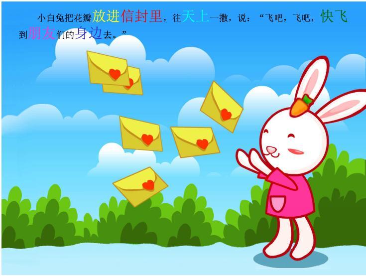 幼儿简笔画桃花的步骤