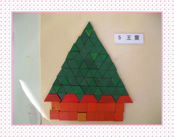 另外,还有部分作品在房子的构建中能表现出左右,上下对称的效果.图片