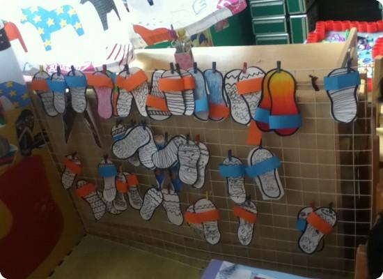 幼儿鞋子简笔画步骤