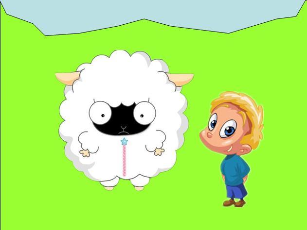 小�_故事——黑脸小白羊