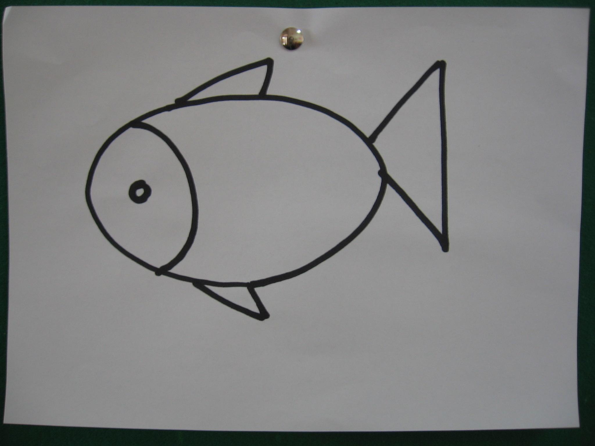 园所主页 班级主页 大1班1003 教学动态 作品范例: 绘画难点: 小鱼的