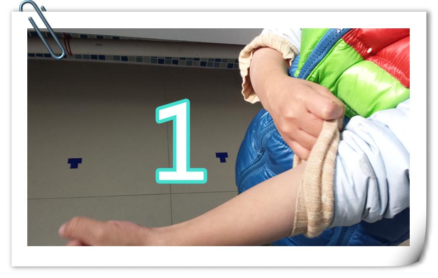 以下是我拍的洗手步骤图,这也是我们在幼儿园中已经教给孩子的洗手