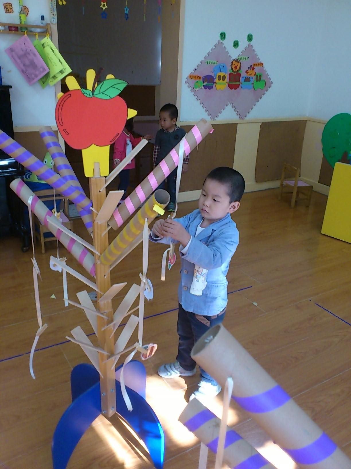 园所主页 班级主页 实验东园大三班 班级相册  苹果树&橘子树