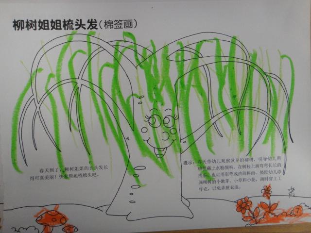 园所主页 中二班 幼儿作品  春天的柳树(朱许诺)   相关附件:   无