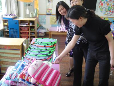 长江幼儿园自制教玩具比赛