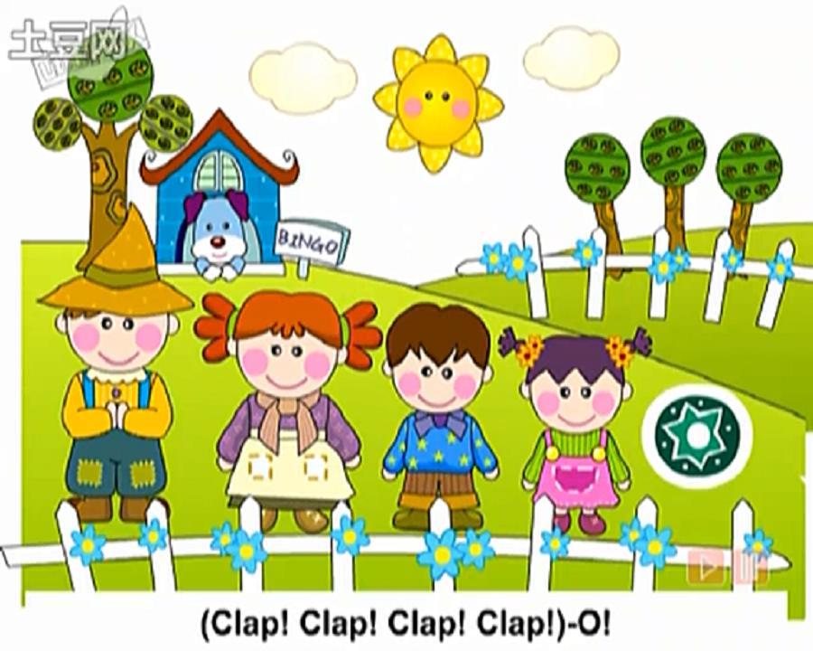 孩子们根据歌曲的韵律和节奏做做唱唱