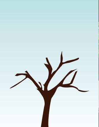 ——每棵大树都有树干,树枝,树根,还有许多树叶.