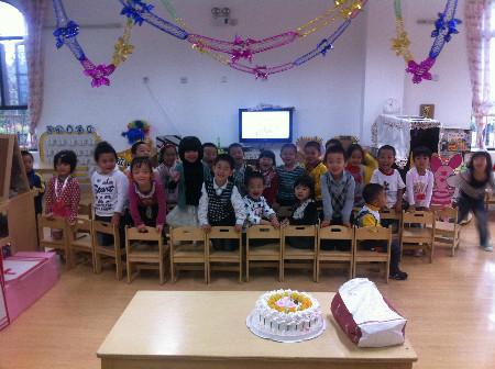 幼儿园朋友过生日祝福语