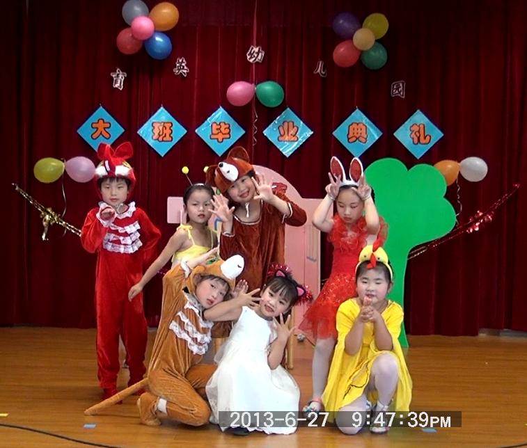 幼儿园小朋友可爱舞蹈姿势