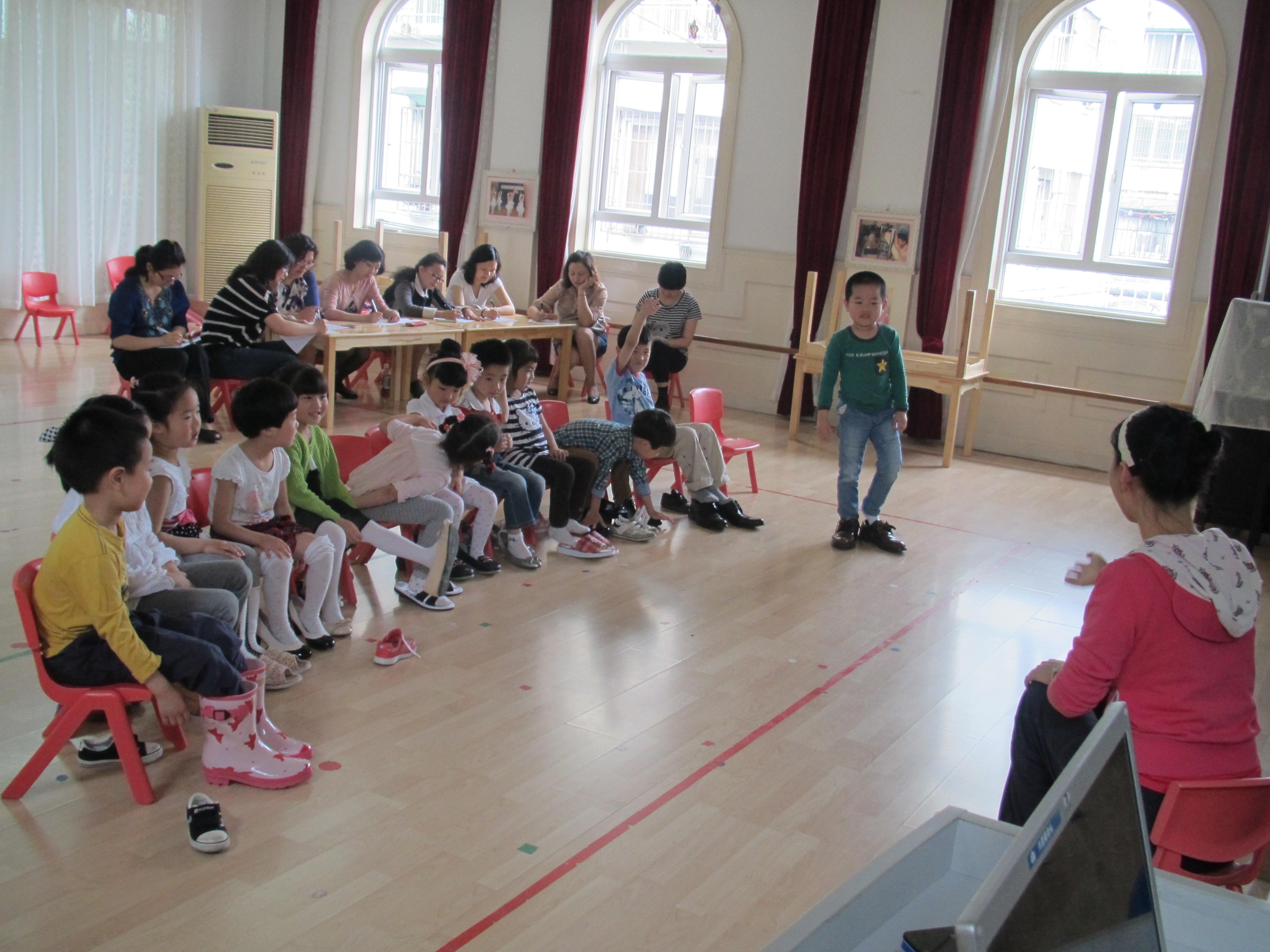 新剑幼儿园——见习教师规范化培训 学员汇报展示活动