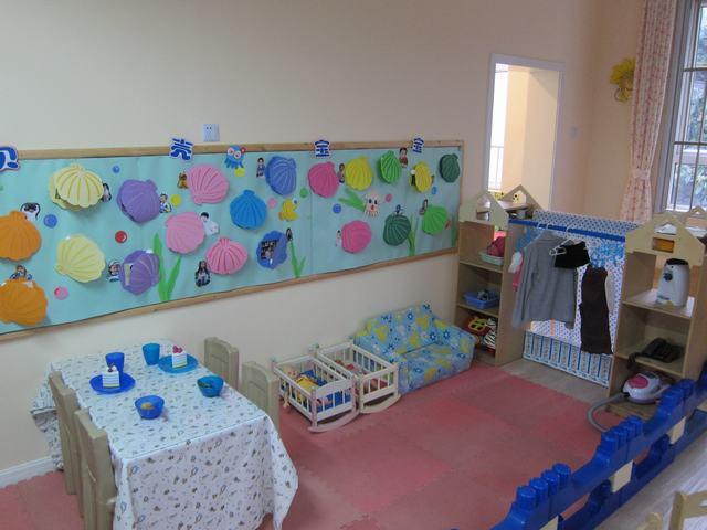 幼儿园小班教室布置;