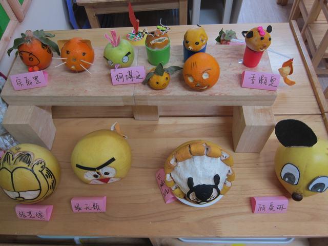幼儿园小班水果手工制作图片大全